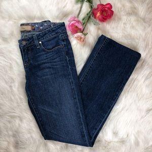 Paige Benedict Canyon Classic Rise Peg Leg Jeans